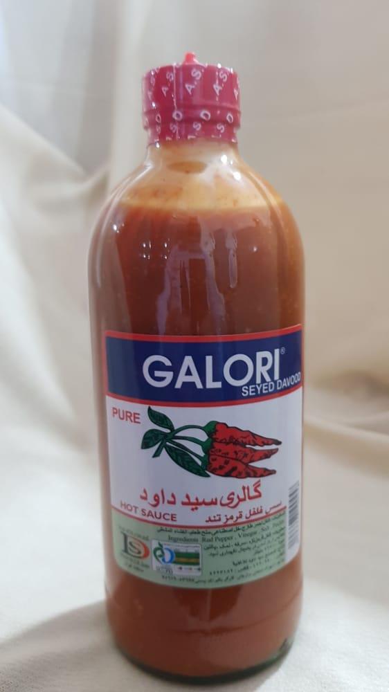 سس فلفل قرمز تند ۴۷۴ گرمی گلورا