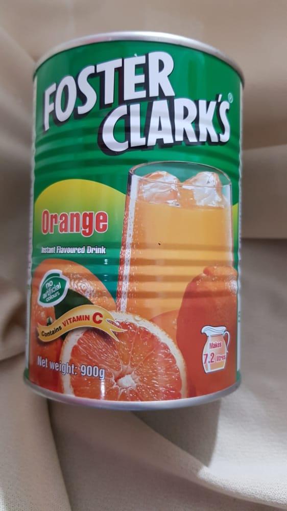 پودر پرتقال ۹۰۰ گرمی فوستر کلارکس