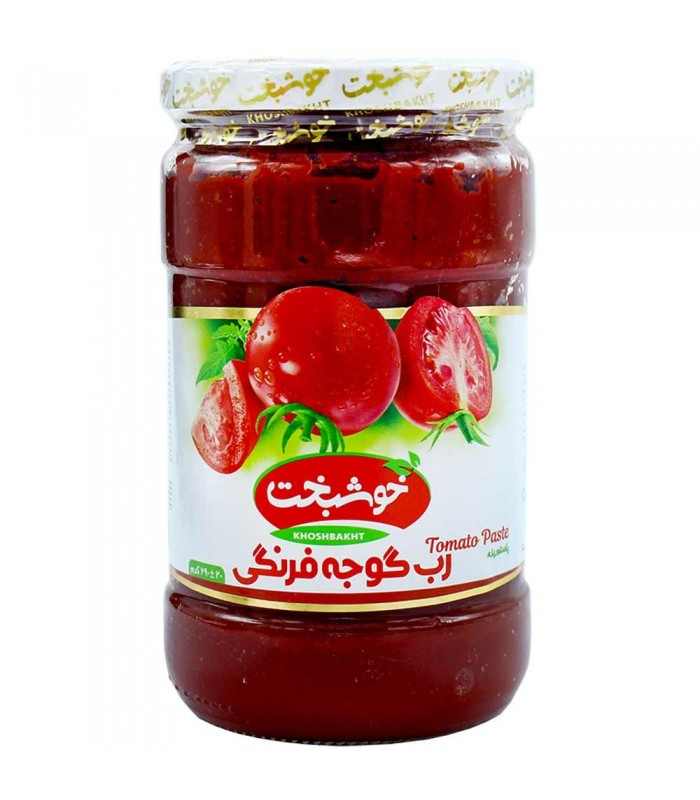 رب گوجه فرنگی ۶۹۰ گرمی خوشبخت