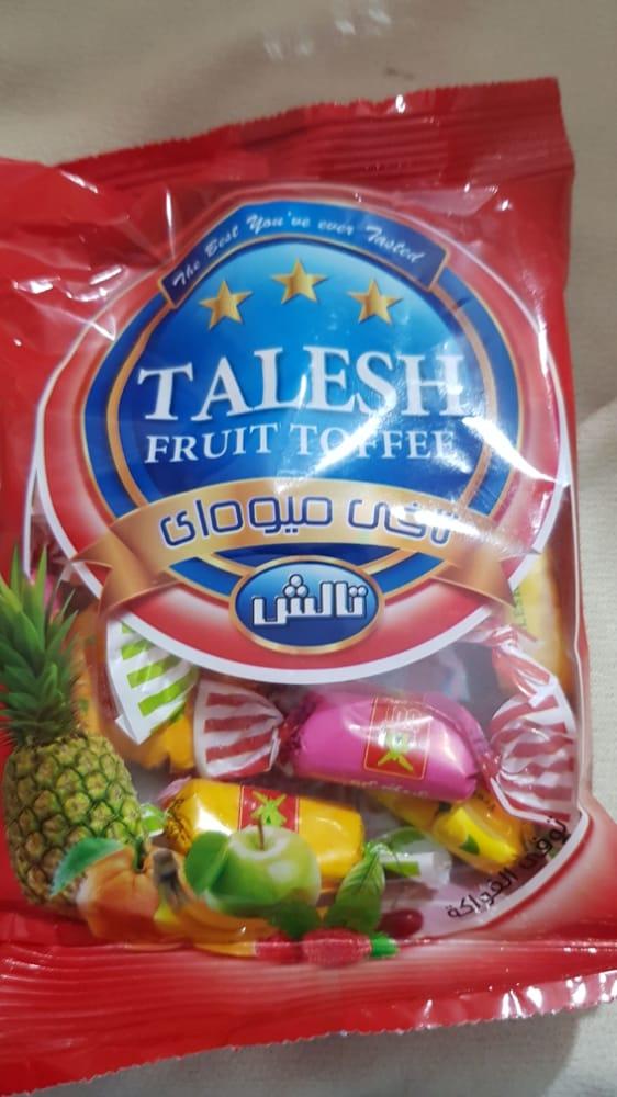 تافی میوه ای ۹۶۰ گرمی تالش