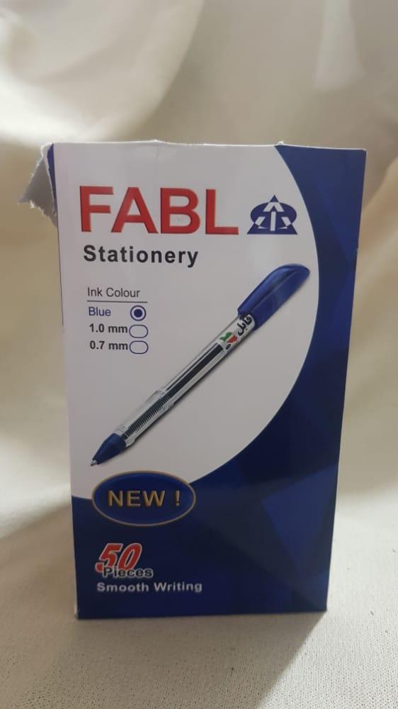 خودکار آبی فابل