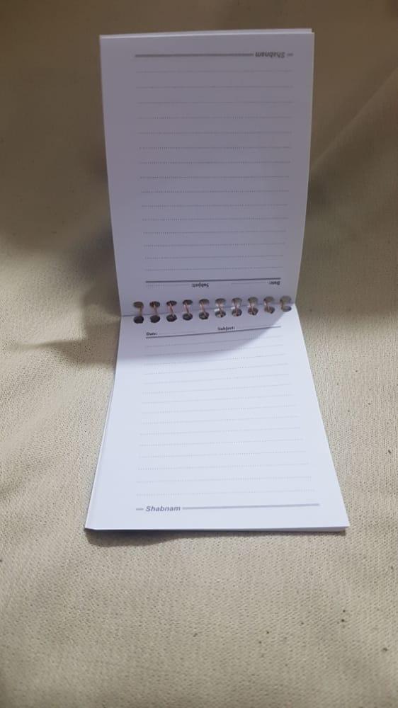 دفترچه یاداشت معمولی