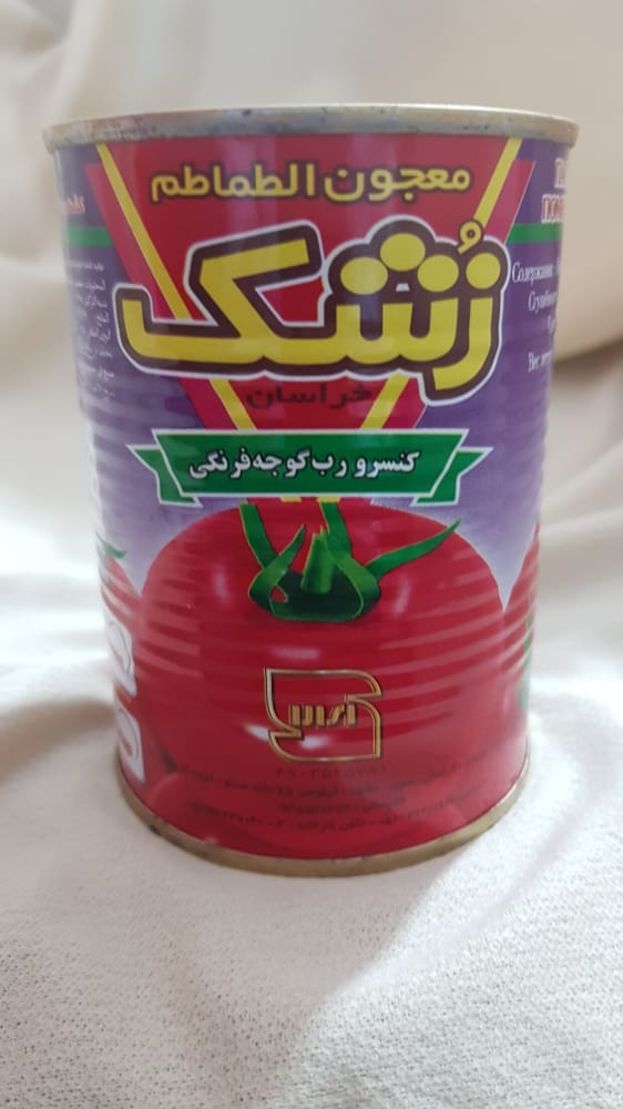 رب گوجه فرنگی ۴۰۰ گرمی زشک