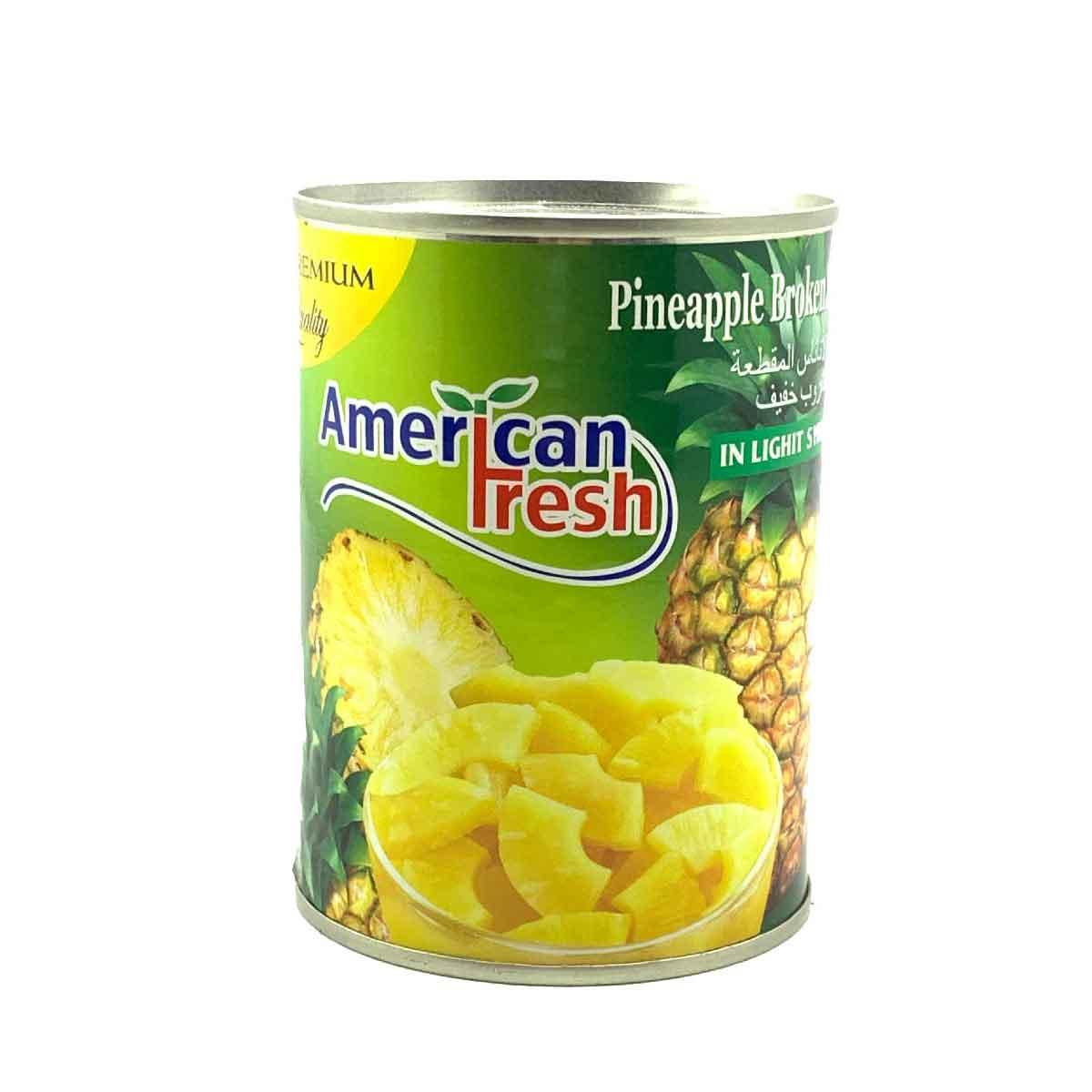 کمپوت اناناس ۵۰۰ گرمی american fresh