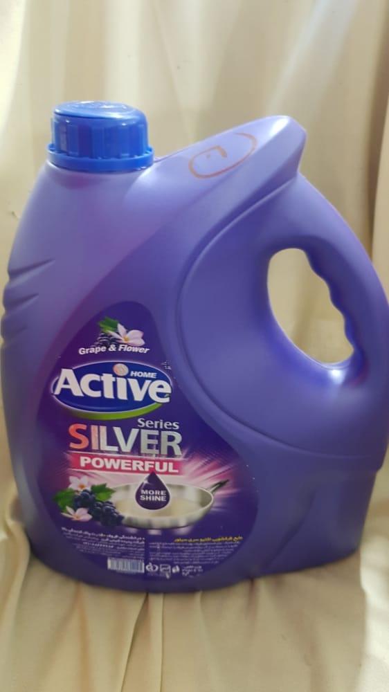 مایع ظرفشویی بنفش ۴ لیتری اکتیو
