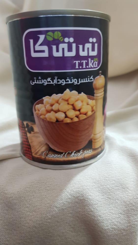کنسرو نخود آبگوشتی ۳۸۰ گرمی تی تی کا