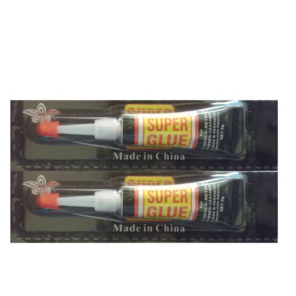 چسب قطره ای بسته ۲ عددی super glue