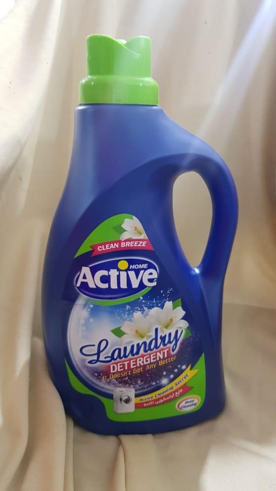 مایع لباسشویی سبز ۲.۵ لیتری اکتیو