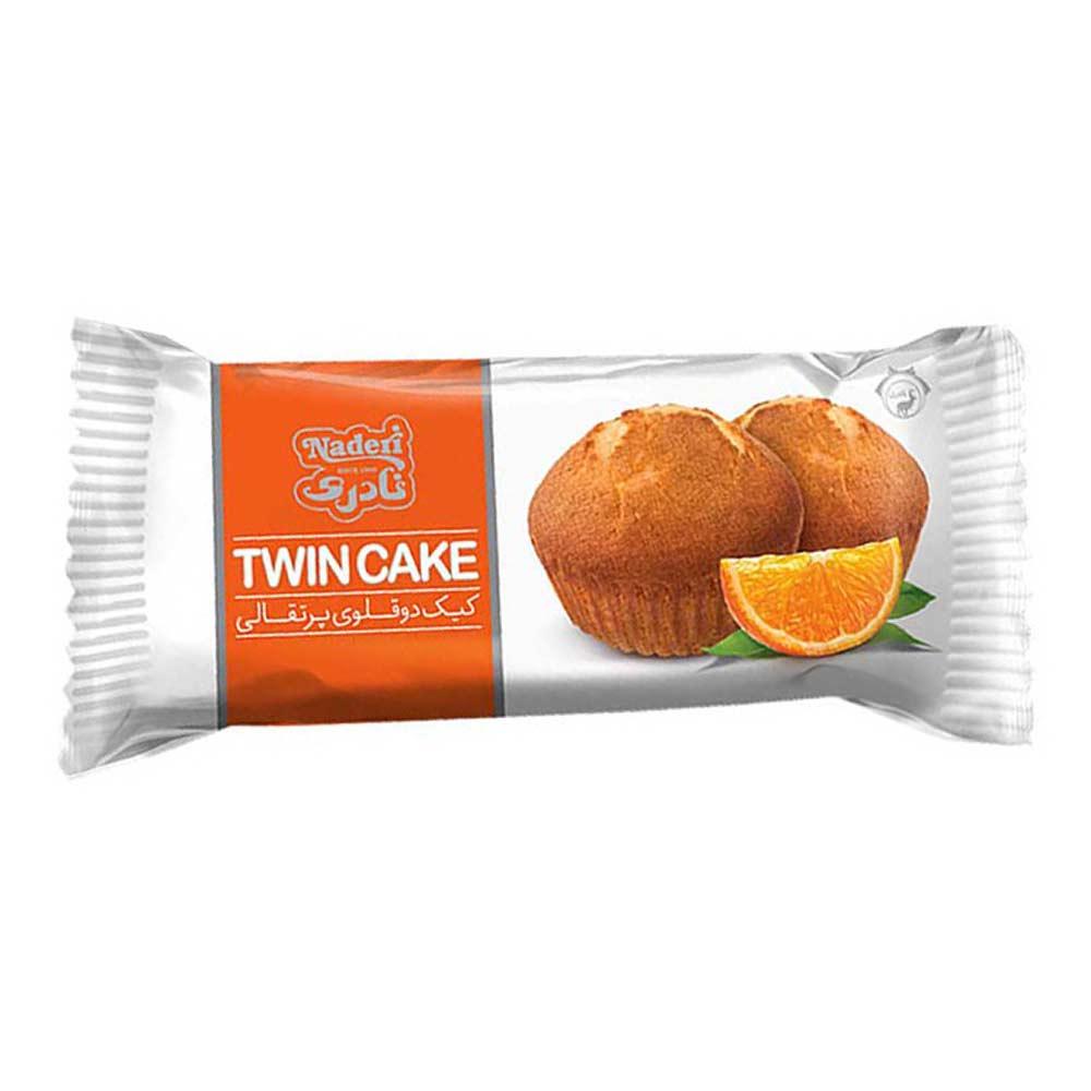 کیک ۲ قلو پرتقالی