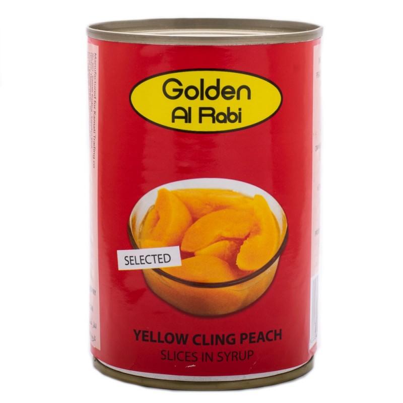 کمپوت هلو ۴۲۰ گرمی golden girl