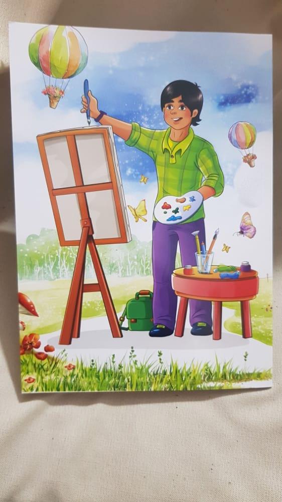 دفتر نقاشی ۴۰ برگ