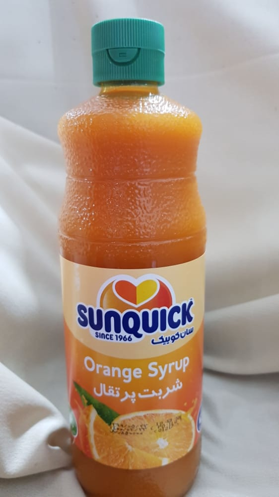 شربت پرتقال ۱ لیتری سان کوییک