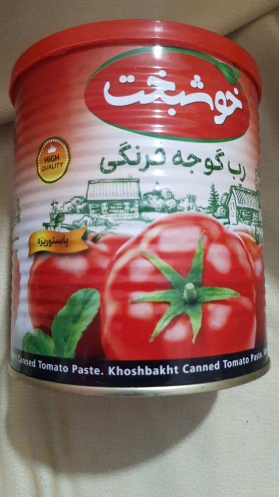 رب گوجه فرنگی ۸۰۰ گرمی خوشبخت