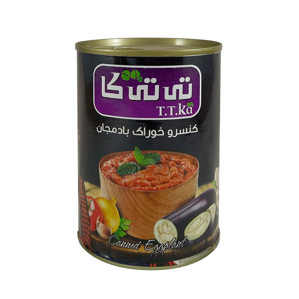 خوراک بادمجان ۳۸۰ گرمی تی تی کا