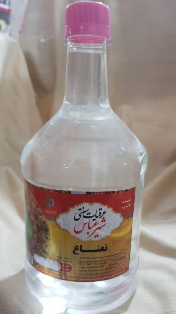 عرق نعناع ۱ لیتری شیر عباس